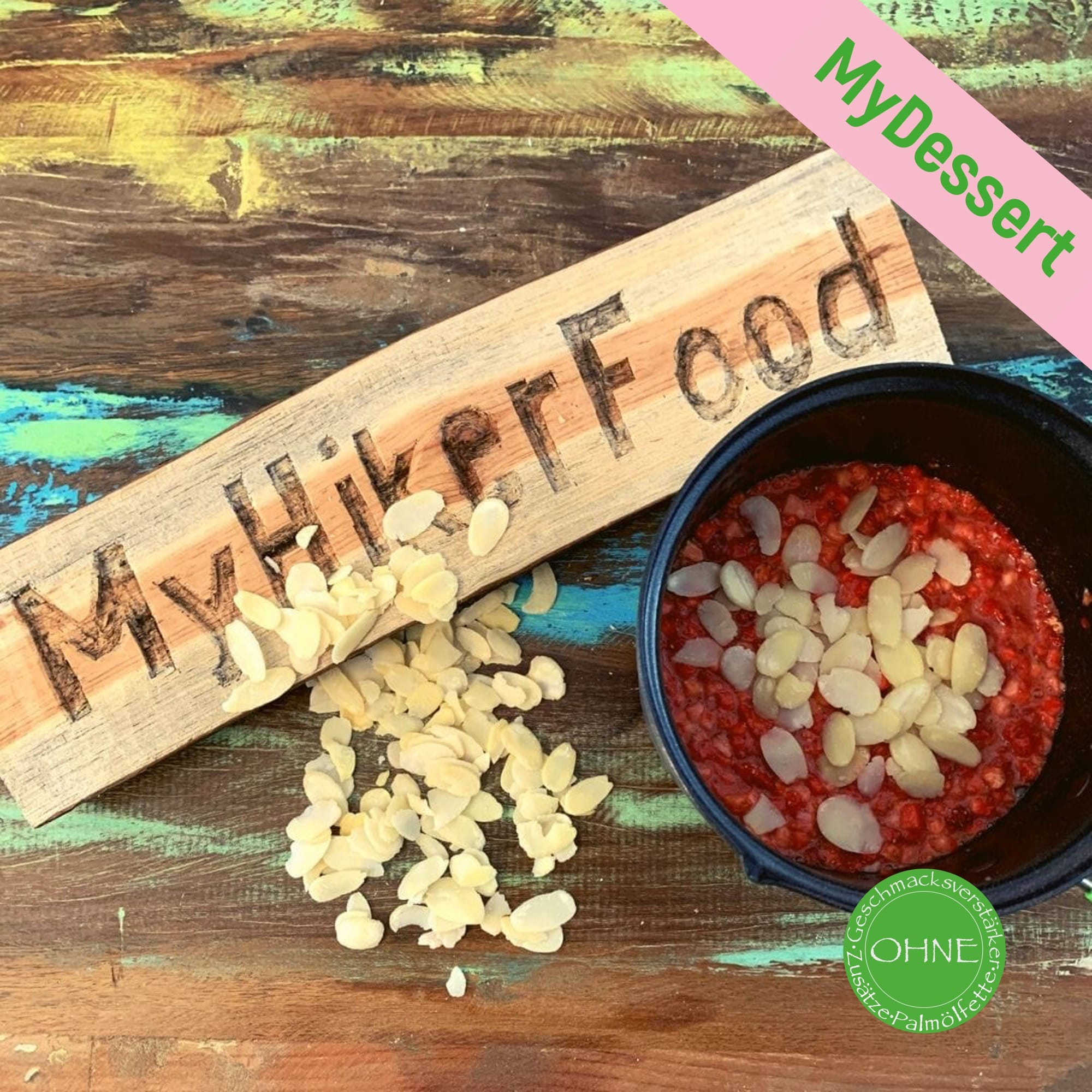 MyHikerfood – Strawberry and Almond Dream