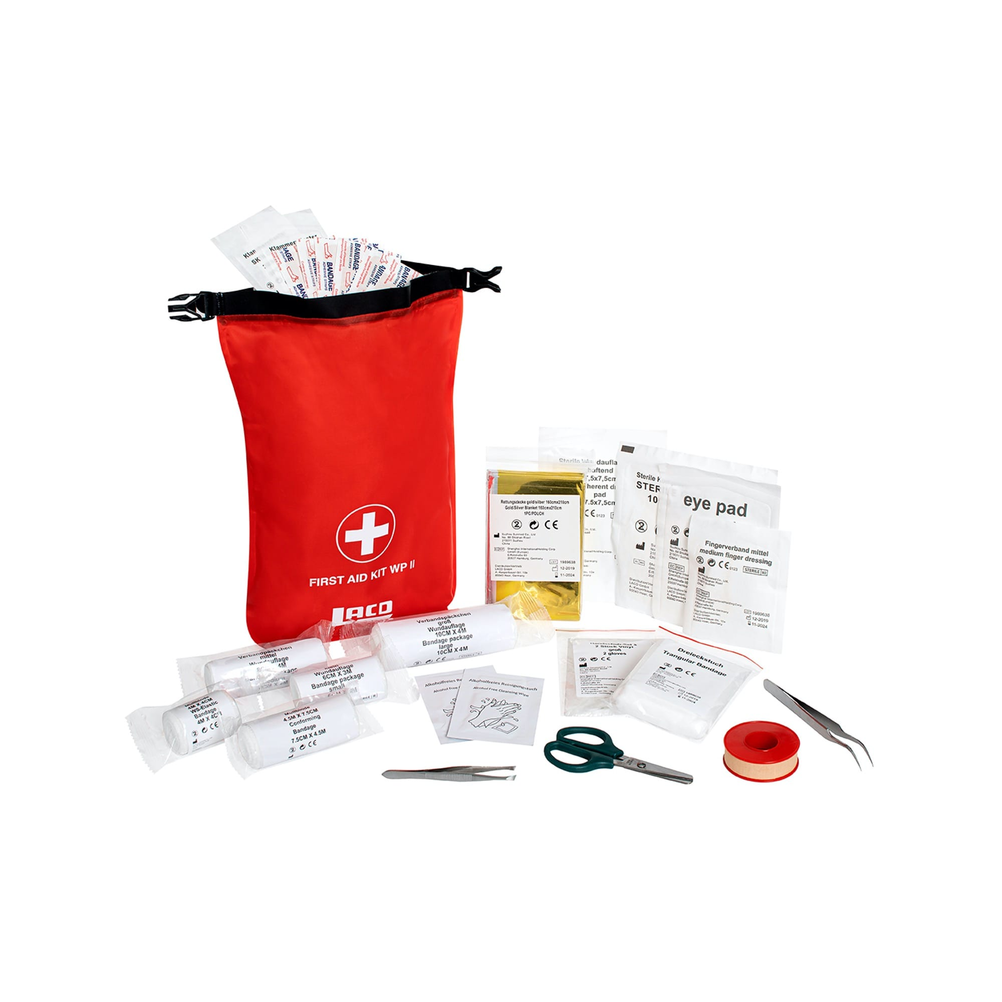 LACD Erste Hilfe Set WP II